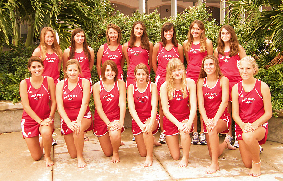 Conchs girls cross country team 2008